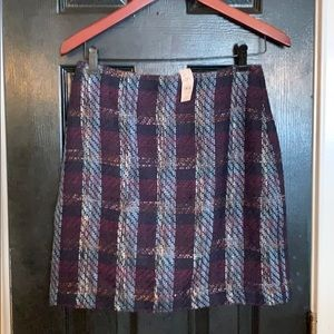Loft  wool blend skirt size 6P